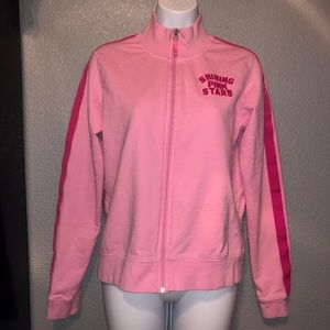 PINK Victoria Secret Track Suit Zip Up Jacket medi